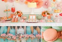 {Wedding} Mint & Coral Color Combo