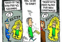 Toon Talk / Clay Jones' Toon Talk.  Cartoons, roughs, ideas, politics, music, and rants.  / by fredericksburg.com