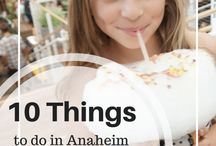 Southern California with Kids / Plan your next family vacation with these ideas for things to do in Southern California!  Whether you want to take the kids to the beach, theme parks or on a road trip of the area, you'll find great travel tips and details about visiting all the best places including Los Angeles and Orange County area.