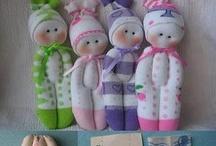 Muñecas de calcetin