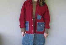 Patchwork coats