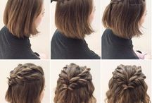 Hair braids for short hair