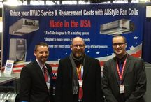 AHR Expo in Chicago / Team Willeford Sales at the 2015 AHR Expo in Chicago.
