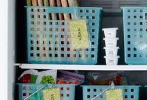 Freezer organisation.