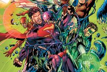 Comic Art - Justice League
