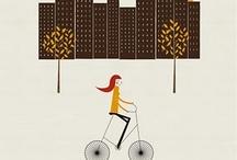 Desde mi bicicleta...