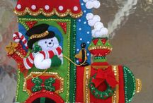 botas navideñas con zully