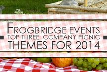 Corporate Event Themes / Theme ideas for your next corporate or company picnic or event.