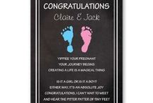 Baby Cards / Greeting cards about being pregnant or giving birth