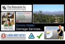 Encino - Water Damage Repair & Restorarion / Proudly serving Woodland Hills for Water Damage Restoration! Call us anytime at 1-818-788-0009..