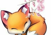 fox / fox I LOVE THIS ANIMAL SO MUSHC OoO but never on my oln eye see some-----_------