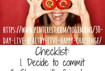 ***30 Day Challenge - Live Happier & Healthier! / Join me for a 30-day Live Healthy Live Happy Challenge Starting January 1st 2018! There will be three pins a day to help you to start living a happier and healthier lifestyle!
