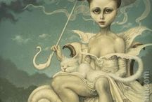 ARTE .  (Pintura surrealista)  DANIEL MERRIAM