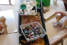 loose parts ideas / by Suzanne Walter