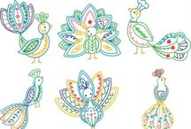 embroidery pattern collection