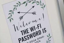Wi-Fi information