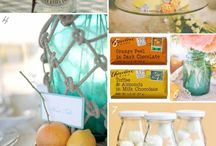 Citrus + Aqua! / Wedding inspiration in Citrus + Aqua!
