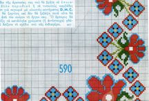 TABLECLOTH-CLOTH *CROSS STITCH