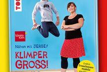 """#NÄHENmitJERSEY / Der Foto-Wettbewerb zu """"Nähen mit JERSEY"""" 2017 von Pauline Dohmen & dem frechverlag. Mehr Infos unter: www.frech.de/gkt"""