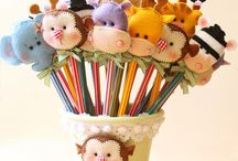 Cantik Pencil Toppers