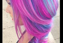 """colourful """" N""""   quirky  hairstyles"""