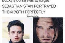 Sebastian Stan - Bucky Barnes