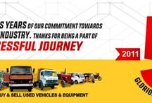 Shriram Automall – Celebrating Glorious Years of Business / As we complete five years of our commitment towards used automotive industry, we thank everyone who has made our journey successful.  Lets come together to make the event huge success.