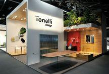 Tonelli Design all'IMM Cologne 2014 / Tonelli Design è stato protagonista dell' IMM COLOGNE del 2014 e Ark. & A. ha contribuito al successo realizzandone i supporti e gli allestimenti espositivi.
