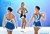 Jerry's Skating World Dresses New Collection 2017 / Jerry's Skating World Dresses have provided quality figure skating and ice skating dresses, for years and they regularly upgrade designs and styles each year to ensure our clients receive the most current styles and unique designs that are created with the finest quality fabrics available.