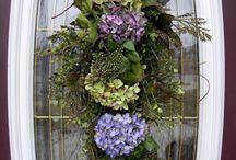 wreaths / by Kim Houser Seyfert