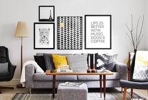 Sala de estar/living room inpiration / inspirações para ter uma sala de estar maravilhosa ou melhor dos sonhos!