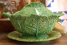Majolica & Dishes