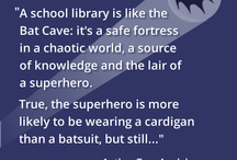 Library - superheroes