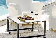 Pool + Patio Teppanyaki Grill Tables