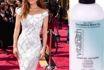 OSCARS 2016: Red Carpet Fashion / Beauty's biggest night didn't disappoint…We're talking about the Oscars of course! We're sharing our favorite celebrity looks  (and the Vitabath fragrances they remind us of)!