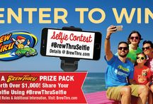 #BrewThruSelfie Contest / Enter to Win a BrewThru Prize Pack worth over $1000