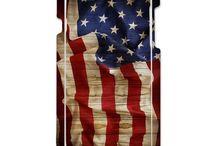 Hot Custom Hard Case USA flag for I phone 6, I phone 6S, I phone 5