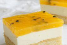 Passionfruit Slice