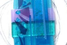 fused glass / by Linda Hurst