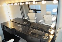 Mobile Businesses / Take your business to the streets with a full office inside of a Sprinter Van.