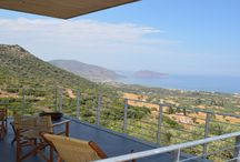 Villa Pelmon #Peloponnese #Greece #Island /  Villa Pelmon Is located near the famous historic city of Monemvasia in the Prefecture of Lakonia in Southern Peloponnese . Situated in an olive grove this beautiful modern property of 220m2 with 100m2 of ict terrace with a swimming pool of 11m x 2.5m http://www.mygreek-villa.com/rent-villa-search/villa-pelmon