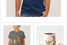 Cute Cartoon Coatimundis Merchandise, T-shirts and accessories by Cheerful Madness!! at Zazzle / Cute cartoon coatimundis, also simply known as coatis, by Cheerful Madness!! and available on all sorts of products and gifts items that you can customize in our shop at Zazzle.