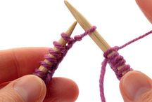 Knitting stiches