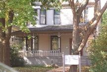 Nobel Prize Author Ernest Hemingway's Home in Oak Park, Illinois USA