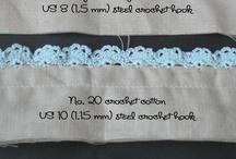 Crochet Lace / by Traci Billups