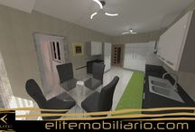 Render 3D Project Eliteline Mobiliario / FotoRealismo 3D Render
