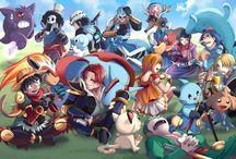 One Piece crossover Pokemon