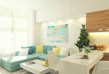 New property / Think outside de box with small spaces.