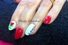 Valentines nails / Who needs love when you love nails!