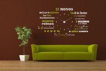 Vinilos decorativos / Vinyles décoratifs